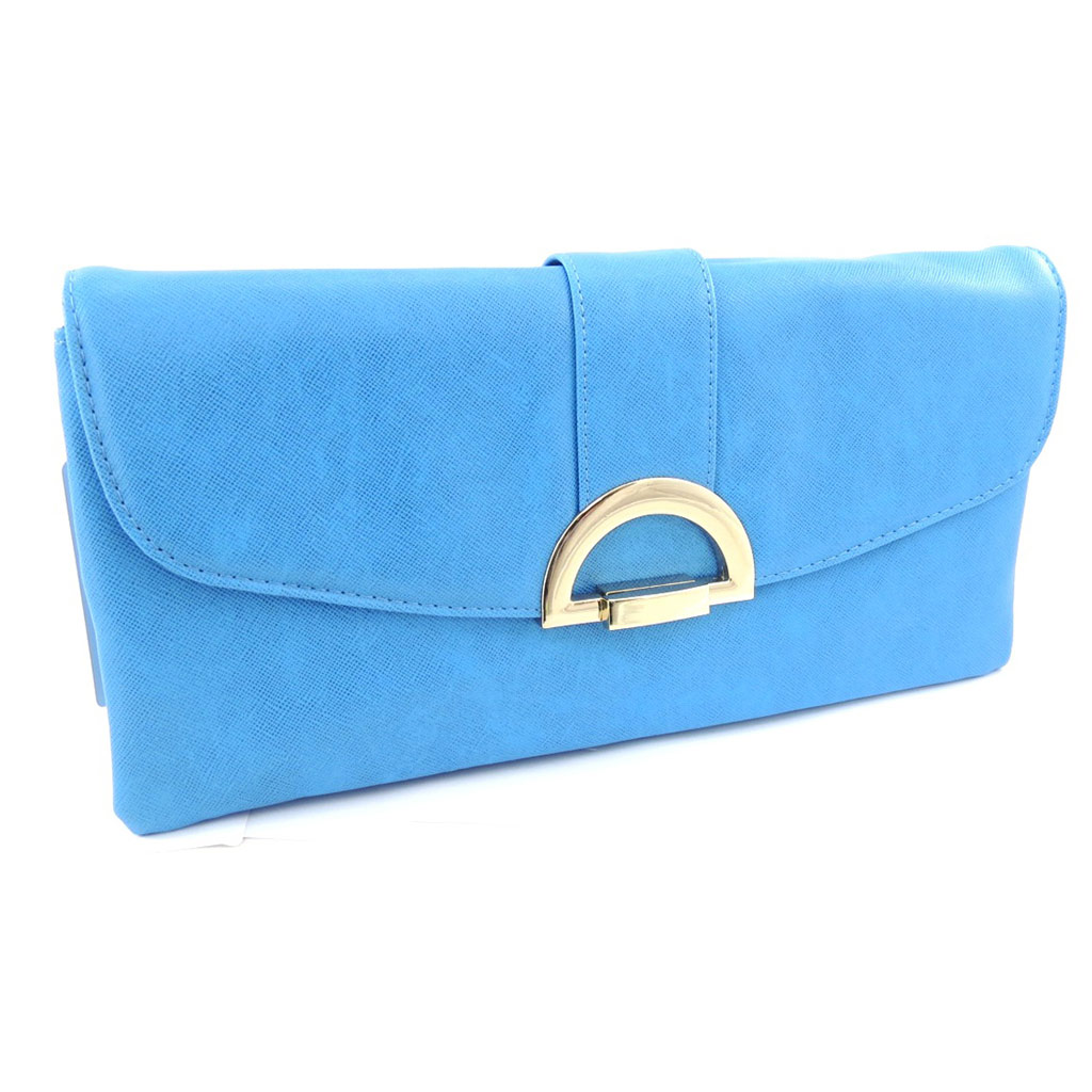 Pochette \'Kika\' bleu - [K1727]