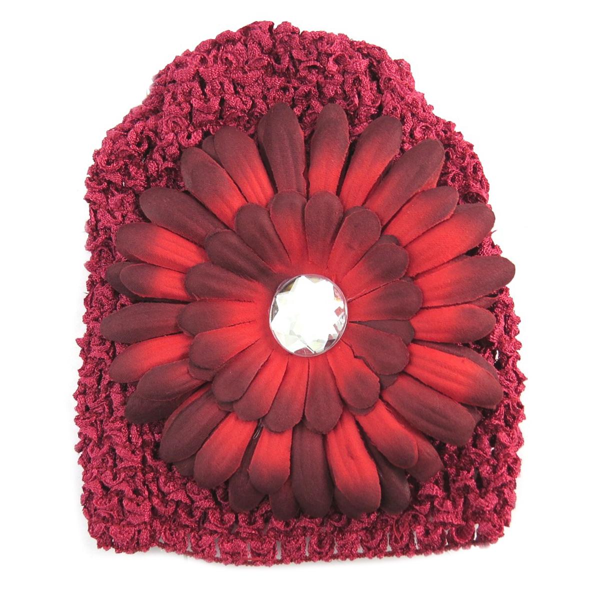 Bonnet enfant \'Petite Lily\' rouge - [Q5220]