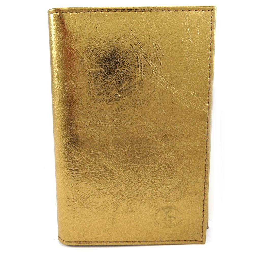 Porte Papiers de voiture Cuir \'Frandi\' bronze (ultra plat) - [L3393]