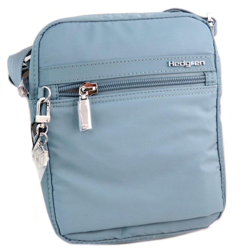 Sac bandoulière \'Hedgren\' bleu citadelle - 22x185x6 cm - [P8558]