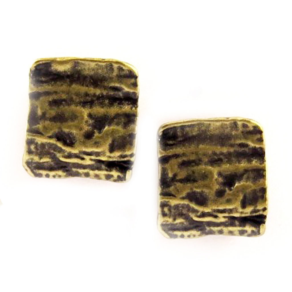 Boucles Créateur \'DV - Antica\' Bronze - [C6470]