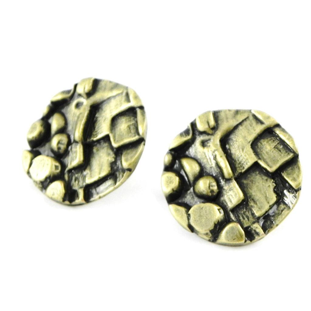 Boucles Créateur \'DV - Antica\' Bronze  - [C6559]