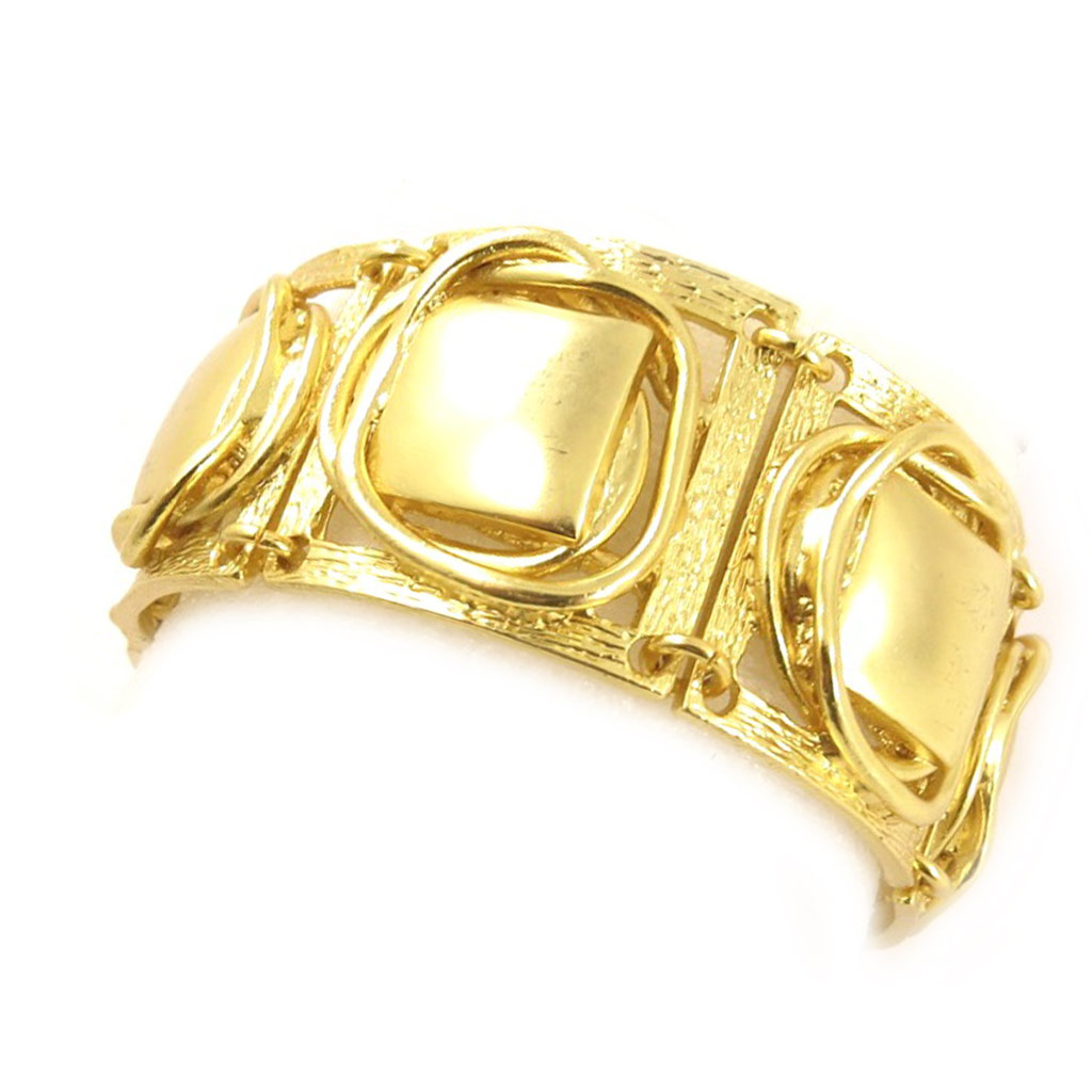Bracelet Créateur \'DV - Antica\' Doré - [C6632]
