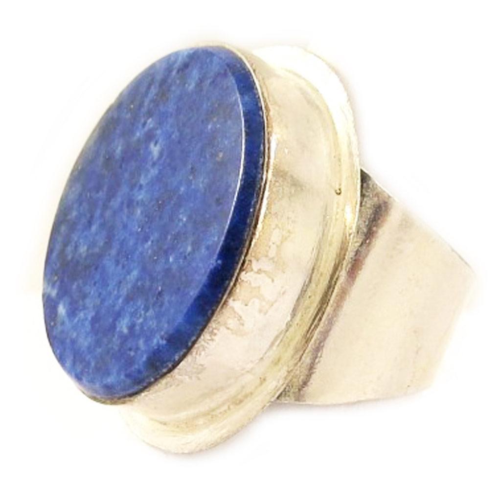 Bague Argent \'Gwyneth\' Lapis Lazuli - [C9622]