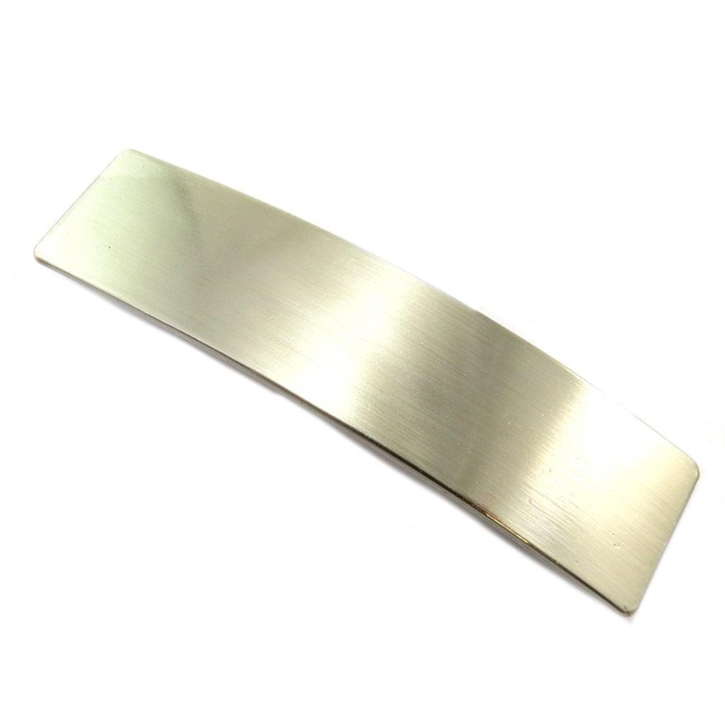 Barrette \'Chorégraphie\' argenté - 85x2 cm - [P3810]