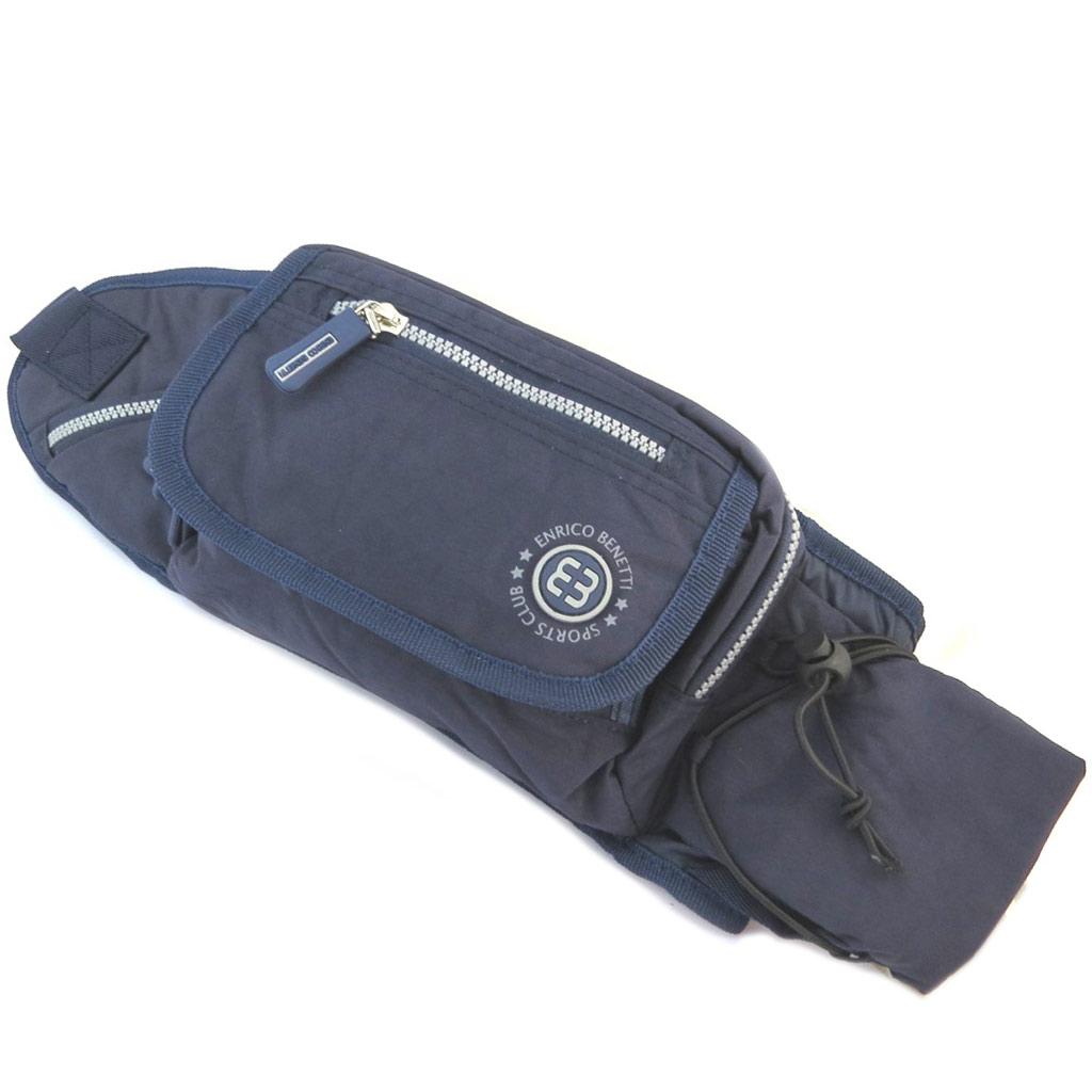 Pochette ceinture / banane \'Enrico Benetti\' marine - 23x17x55 cm - [P2141]
