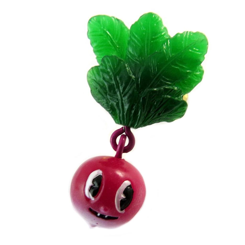 Bague artisanale \'Monde Merveilleux\' (Potager du Bonheur) vert rose doré - [P2202]