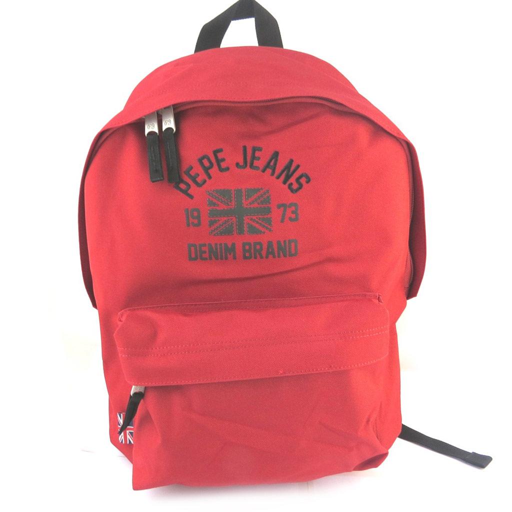 Sac à dos \'Pepe Jeans\' rouge (40x30x145 cm) - [M6889]