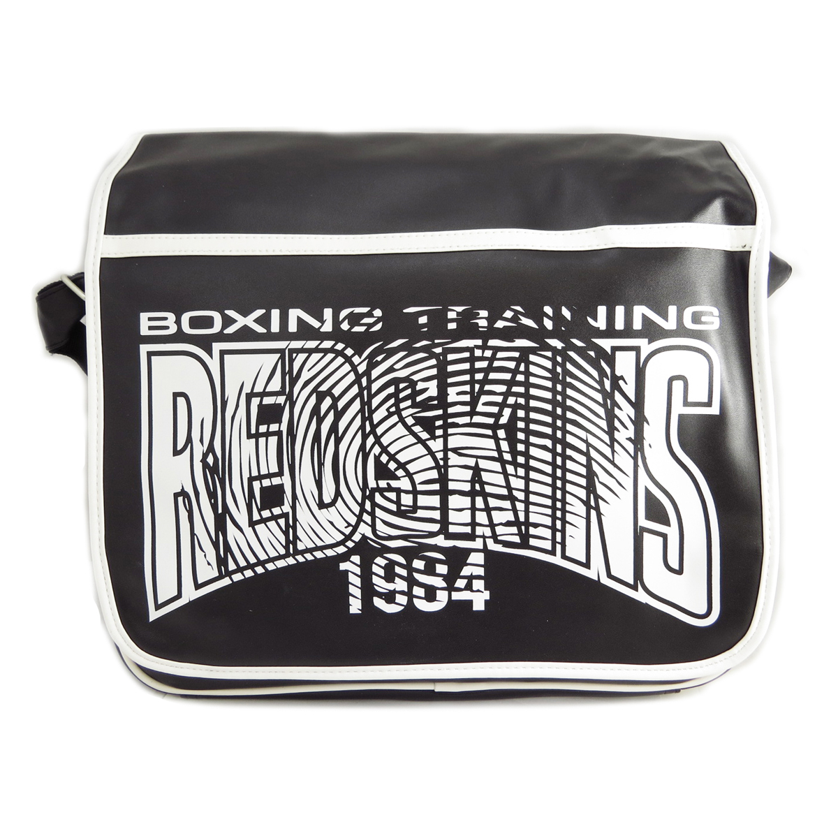 Besace \'Redskins\' noir - 36x31x85 cm - [J0665]