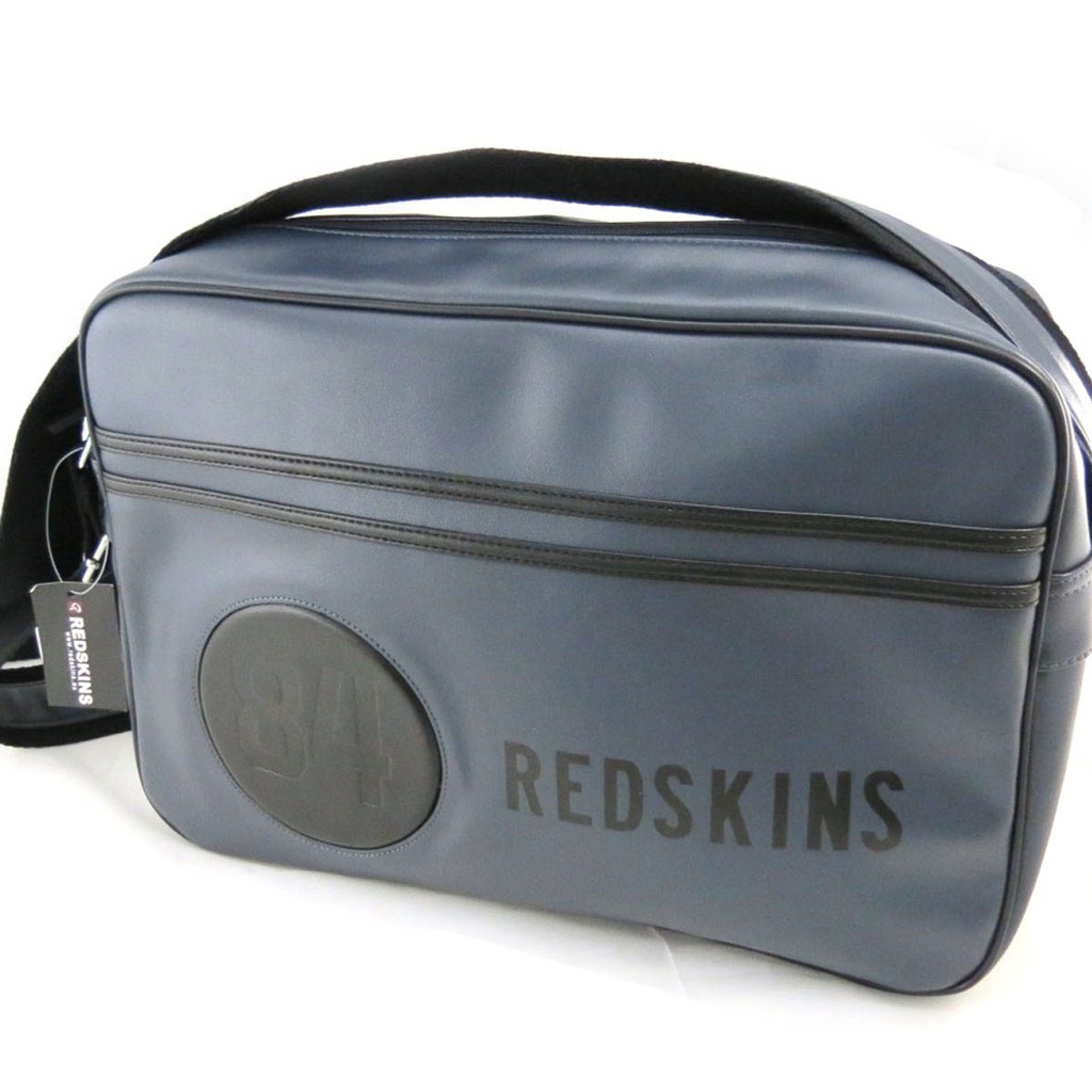 Besace \'Redskins\' gris vintage - [J0689]