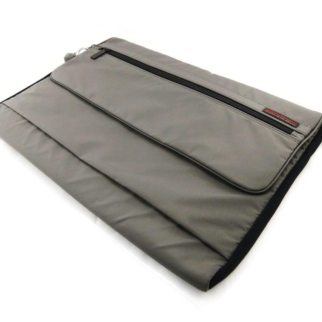 Housse ordinateur portable \'Hedgren\' taupe (L ou 17\') - [J1443]