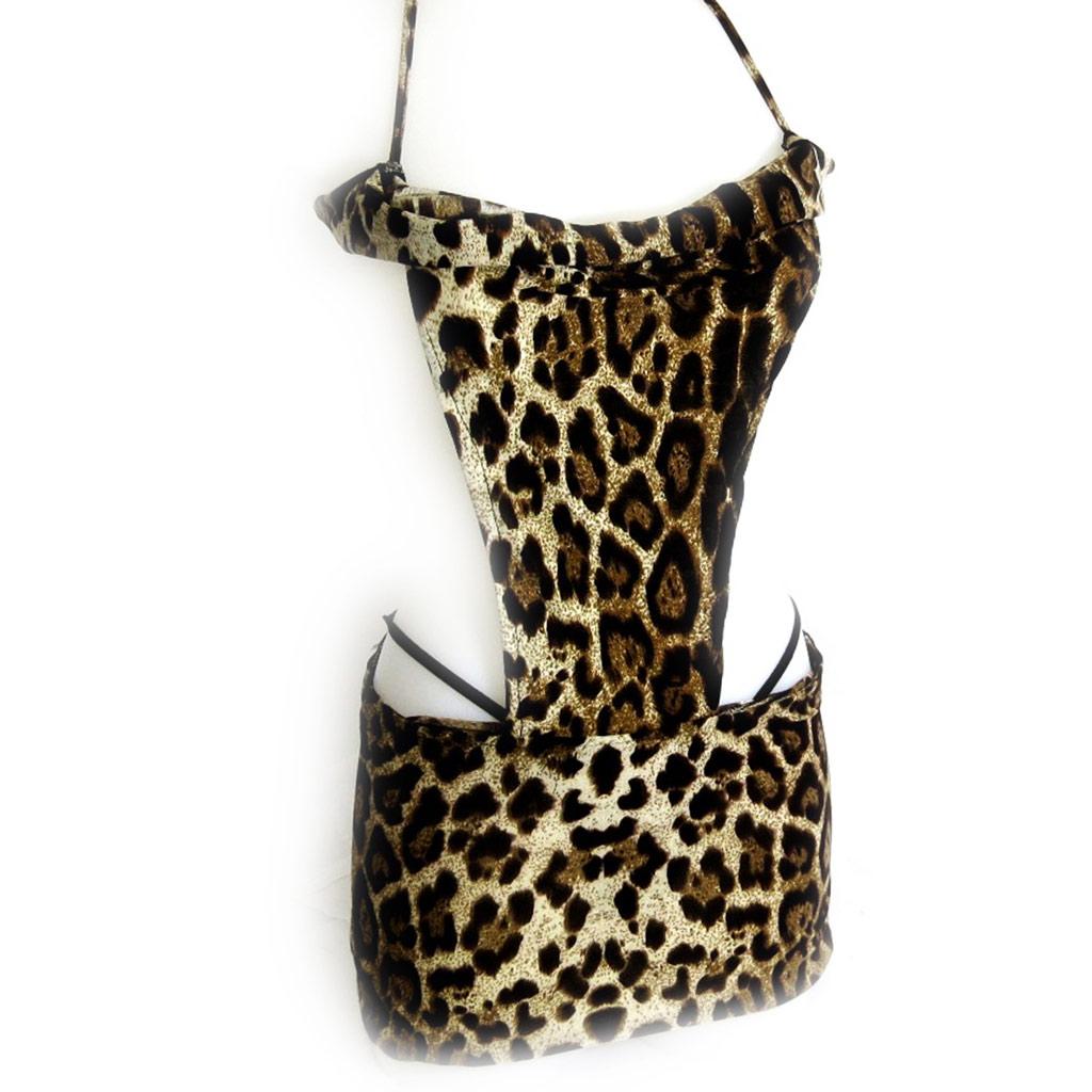 Tenue sexy \'Scarlett\' leopard - [K8453]