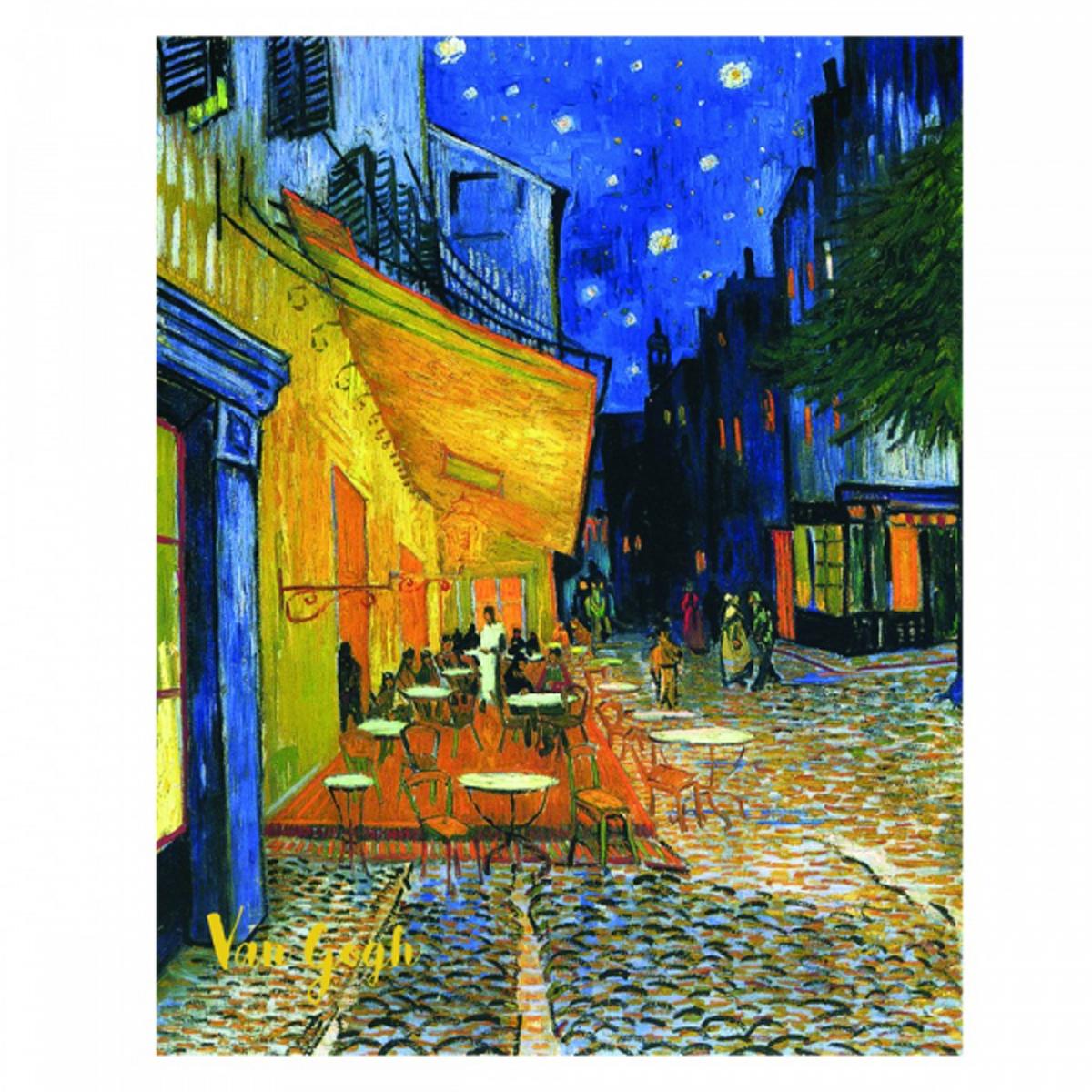 Reproduction \'Vincent Van Gogh\' (Terrasse du café le soir) - 30x20 cm - [R2015]