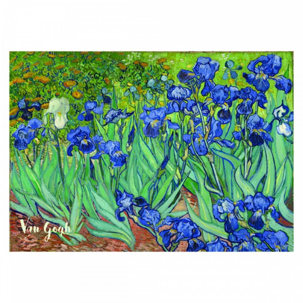 Reproduction \'Vincent Van Gogh\' (Iris) - 30x20 cm - [R2016]