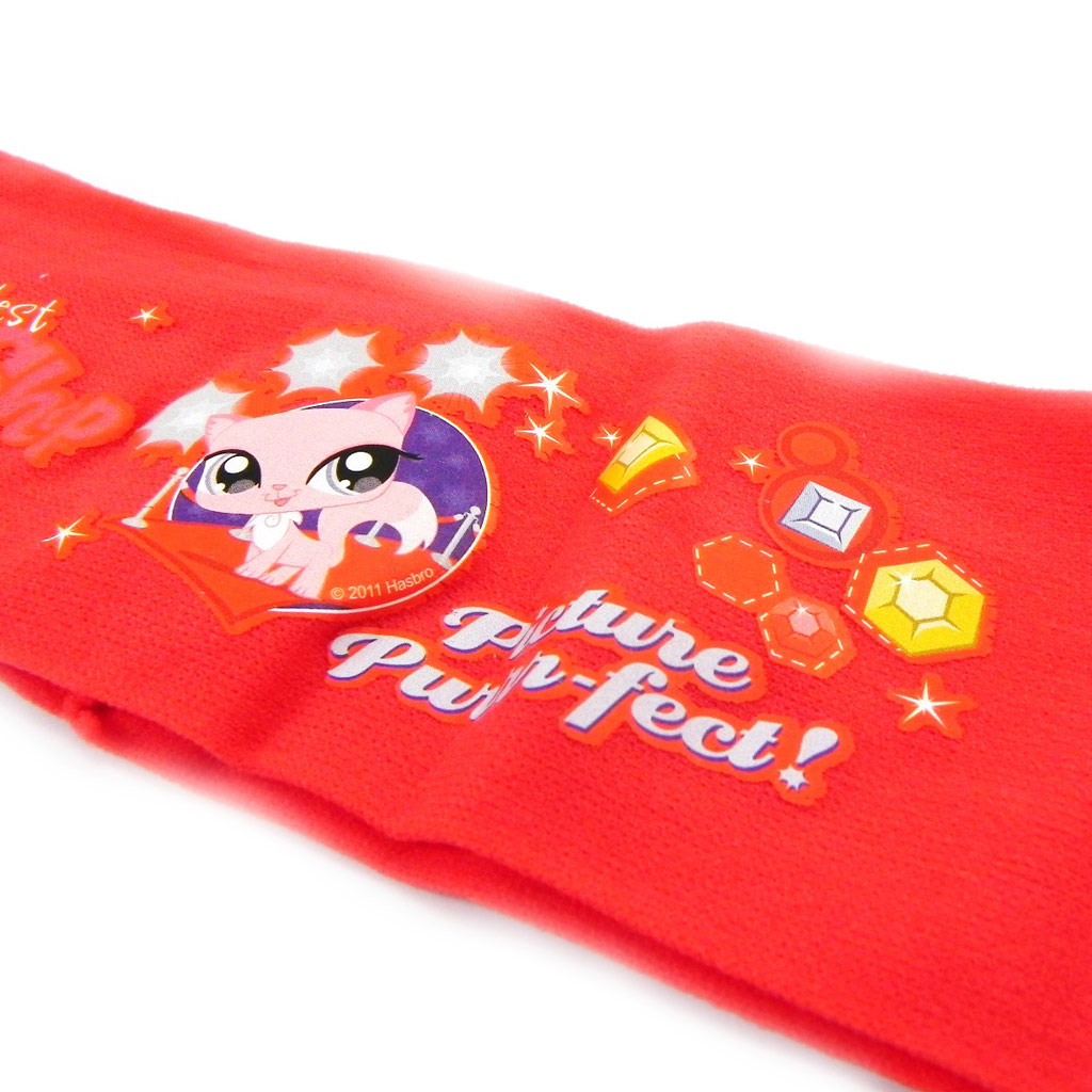 Bandeau \'Pet shop\' rouge - [H7272]