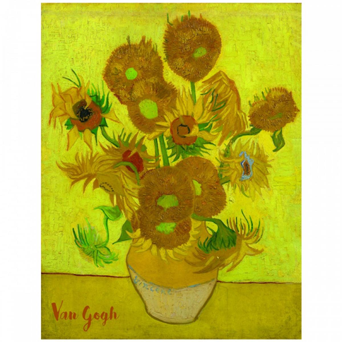 Reproduction \'Vincent Van Gogh\' (Les Tournesols) - 30x20 cm - [R2018]