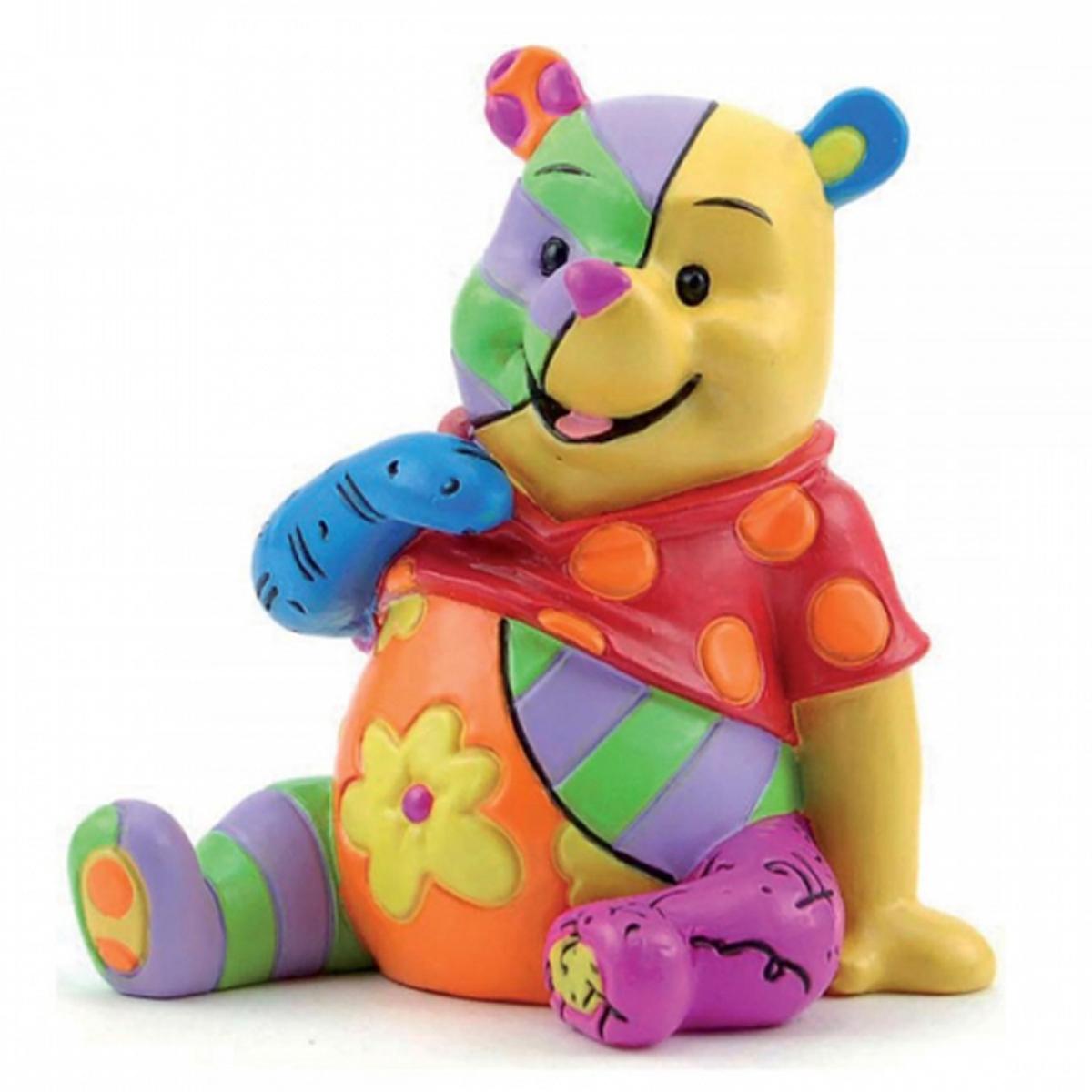 Figurine créateur \'Winnie l\'Ourson\' multicolore (Britto) - 70x50 mm - [R2021]