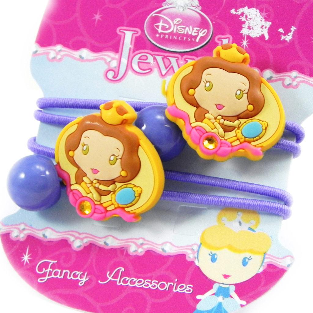 Paire d\'élastiques \'Princess Jewels\' lavande - [H7307]