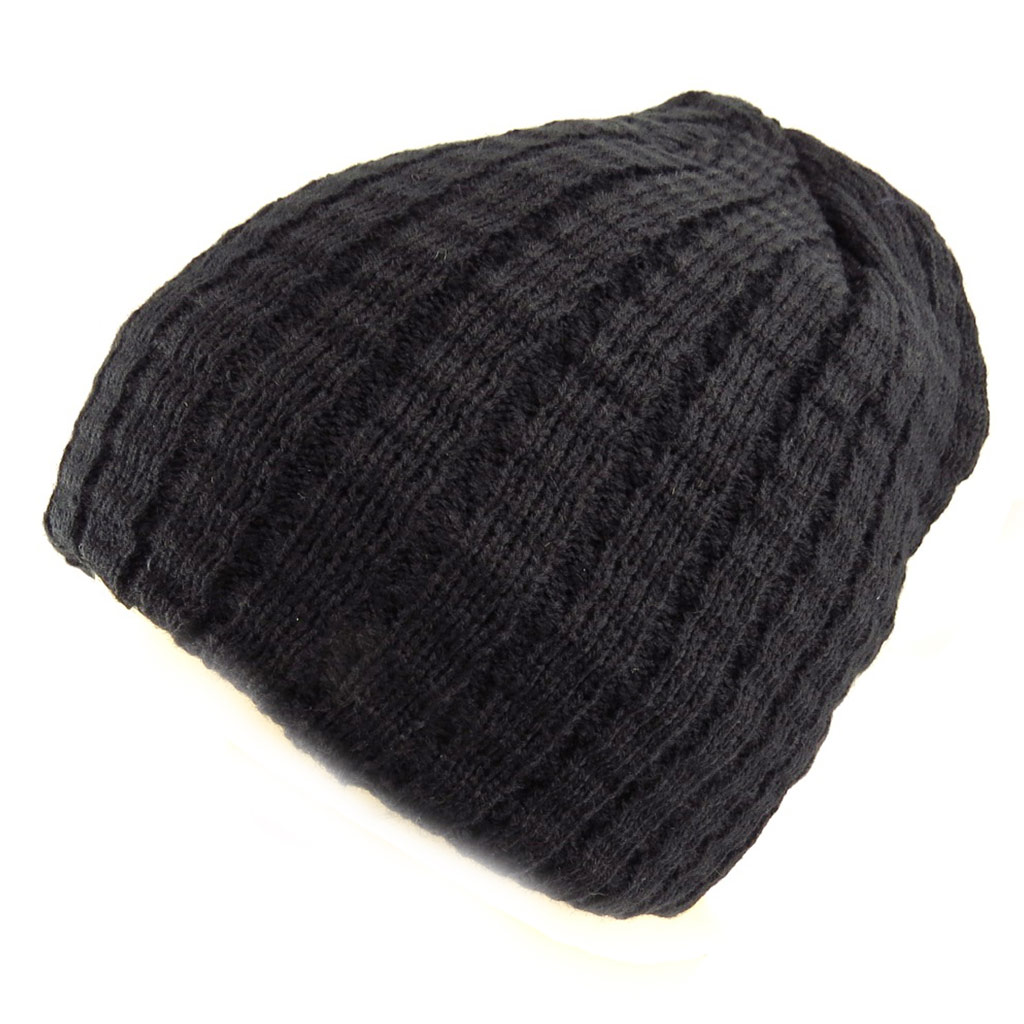 Bonnet \'Indispensable\' noir  - [Q5243]