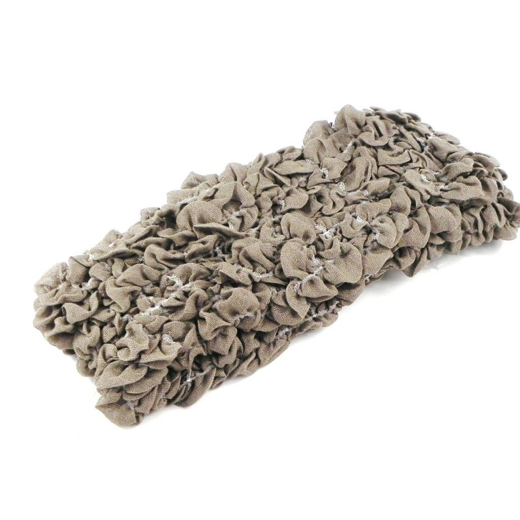 Echarpe tube ou snood \'Indispensable\' taupe - [H7504]