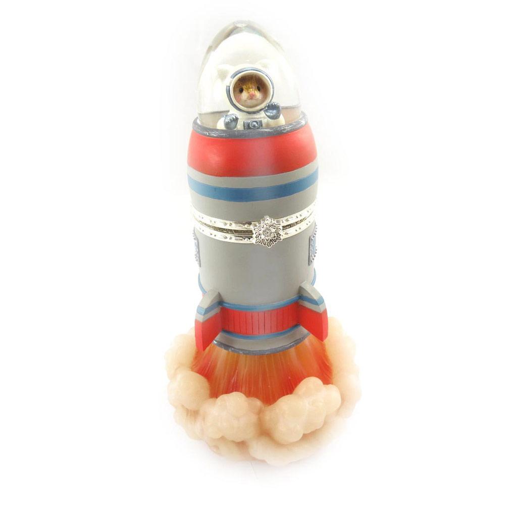 Boule Musicale \'Hamster Cosmonaute\'  - [J7919]