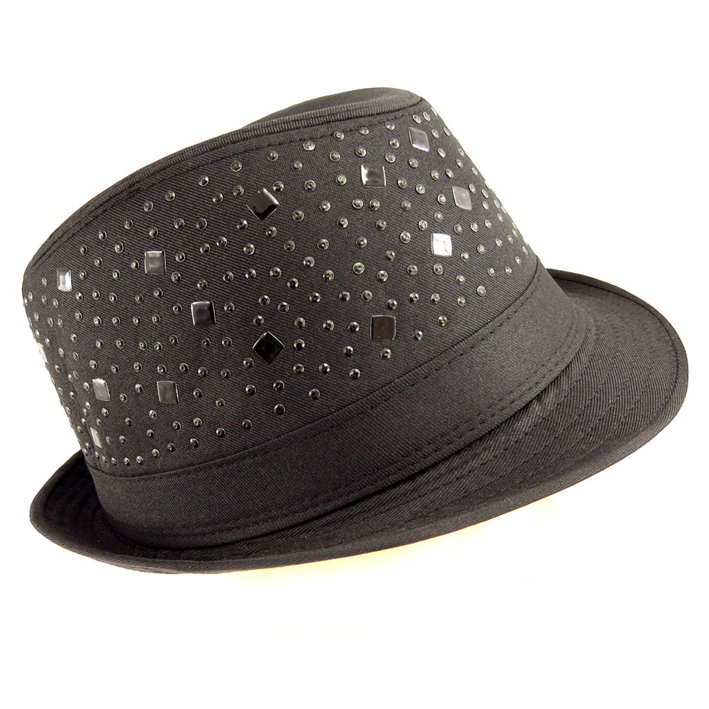 Chapeau Borsalino \'Maestro\' noir - [Q5334]