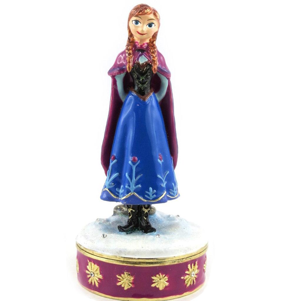 Coffret à Bijoux \'Frozen- Reine des Neiges\' bleu violet (Anna) - [M4027]