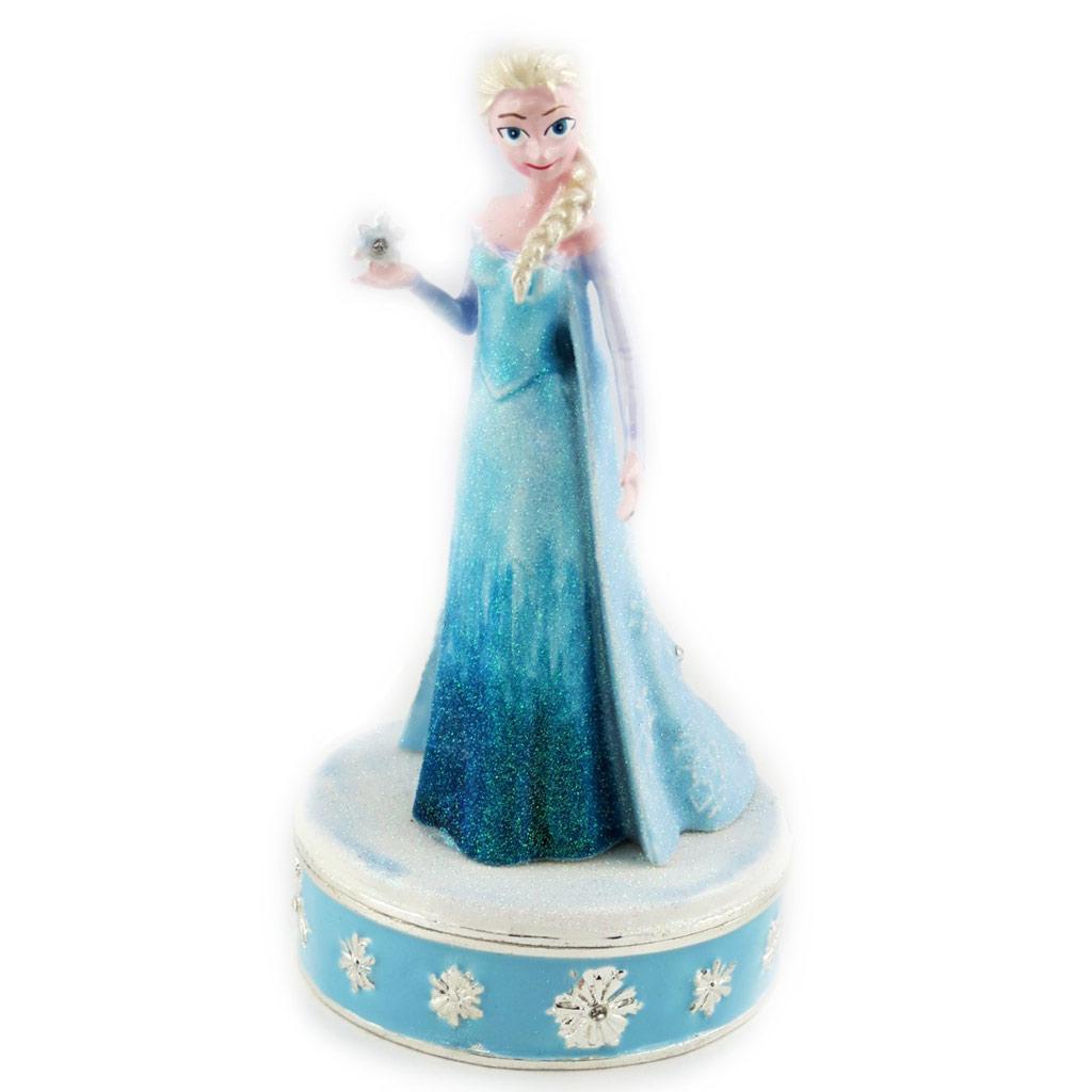 Coffret à Bijoux \'Frozen- Reine des Neiges\' bleu (Elsa) - [M4028]