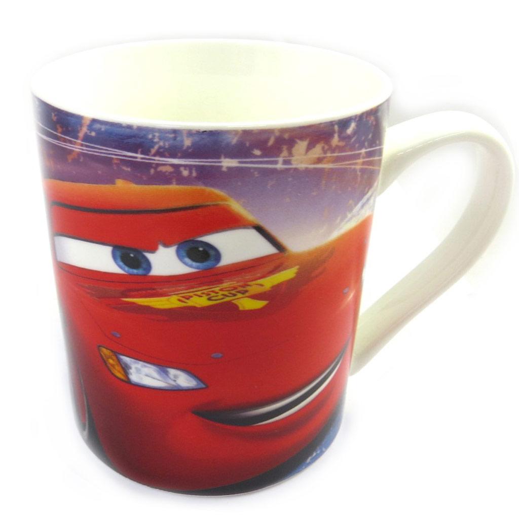 Mug porcelaine \'Cars\' rouge multicolore - [M4044]