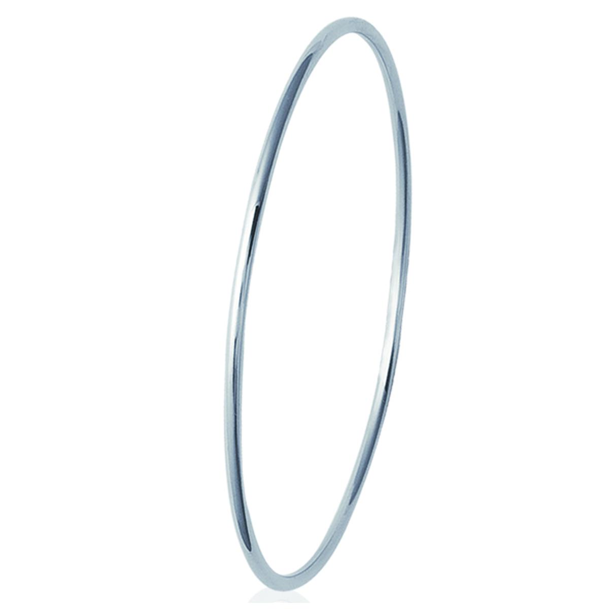 Bracelet Acier \'Chorégraphie\' argenté - 66 mm 2 mm - [L1105]