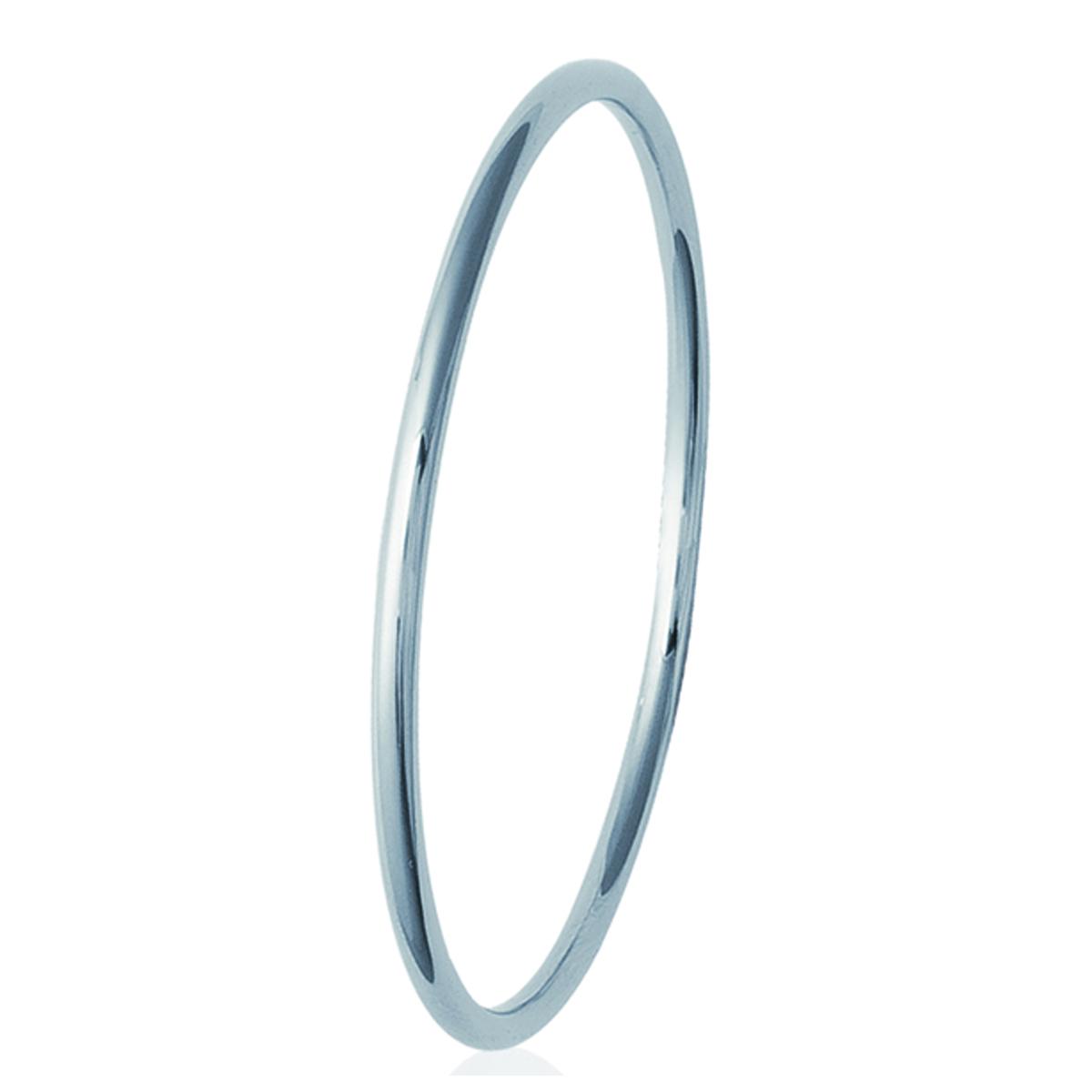 Bracelet Acier \'Chorégraphie\' argenté - 66 mm 3 mm - [L1106]