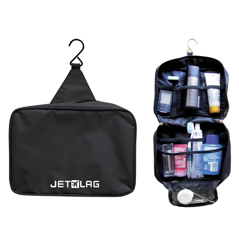 Trousse de toilette de voyage \'Jet Lag\' noir  - [M4706]