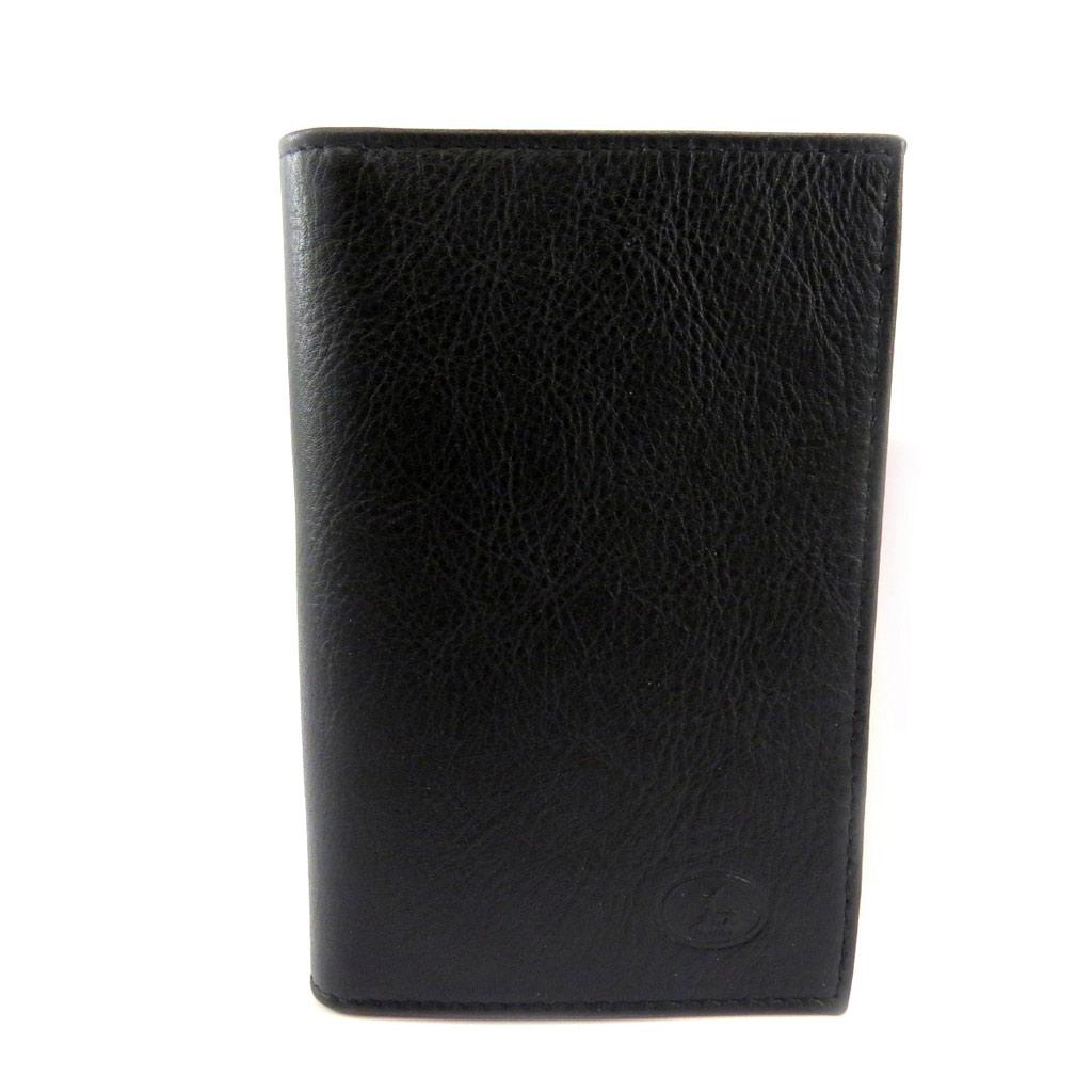 Porte Papiers de voiture Cuir \'Frandi\' noir (ultra plat) - [L3471]