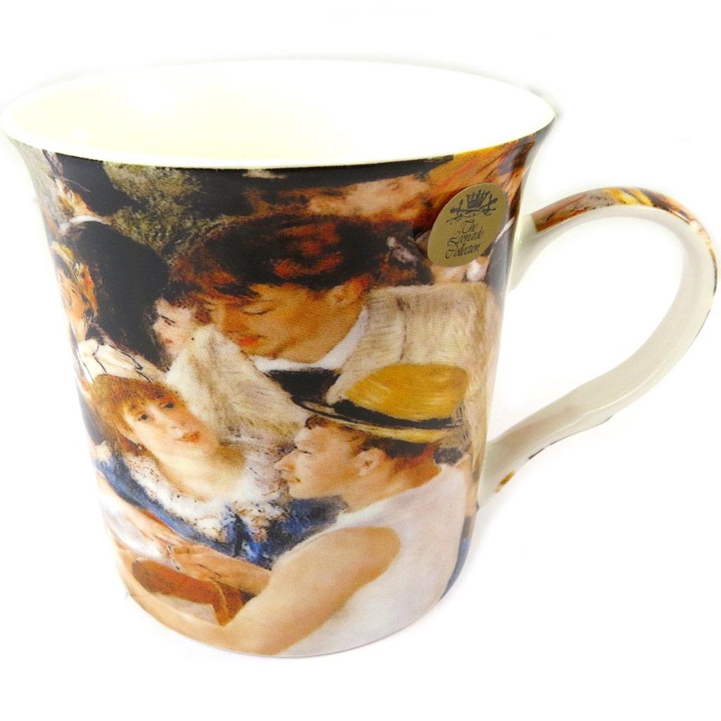 Mug porcelaine \'Auguste Renoir\' Le déjeuner des Canotiers - 115x85 cm - [P0330]