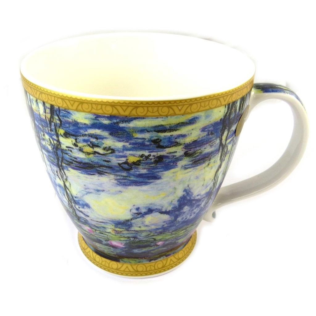 Mug porcelaine \'Claude Monet\' Les Nymphéas - [P0336]