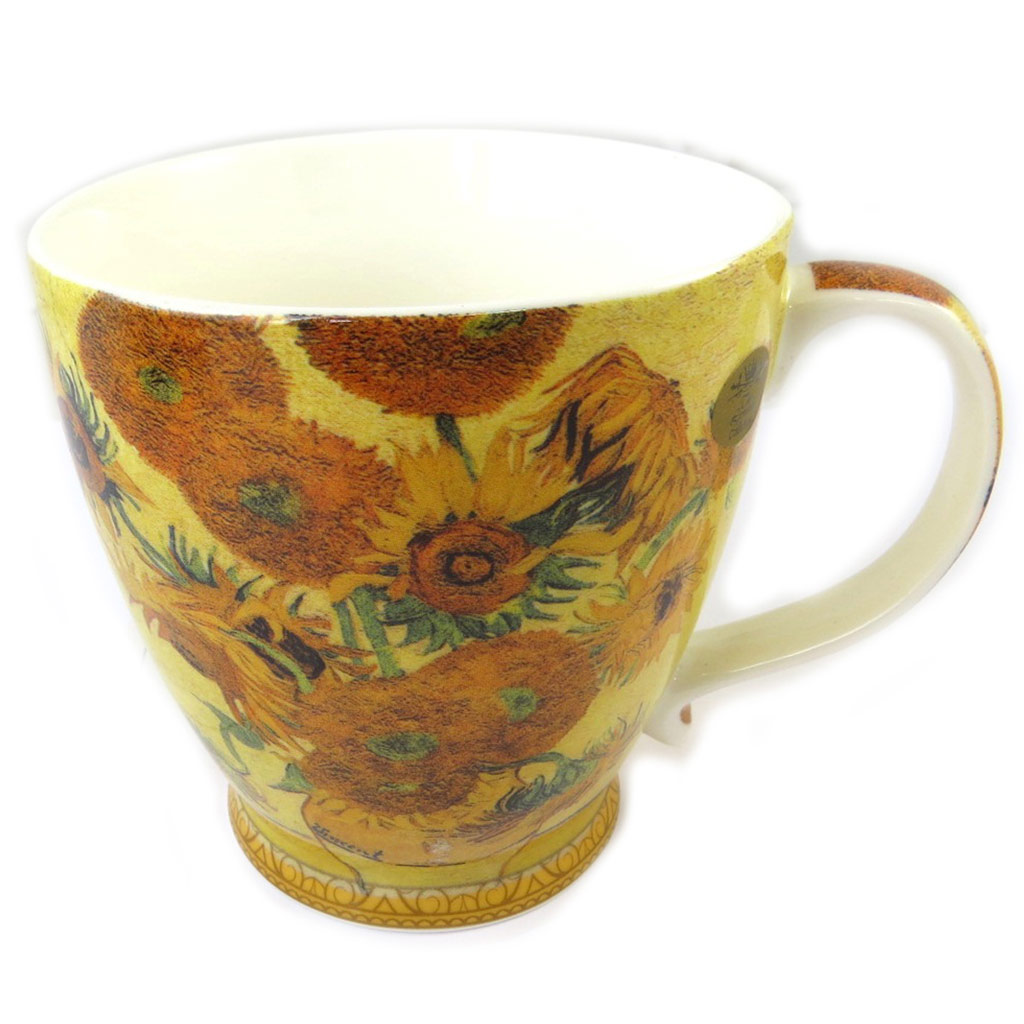 Mug porcelaine \'Vincent Van Gogh\' Les Tournesols - [P0337]