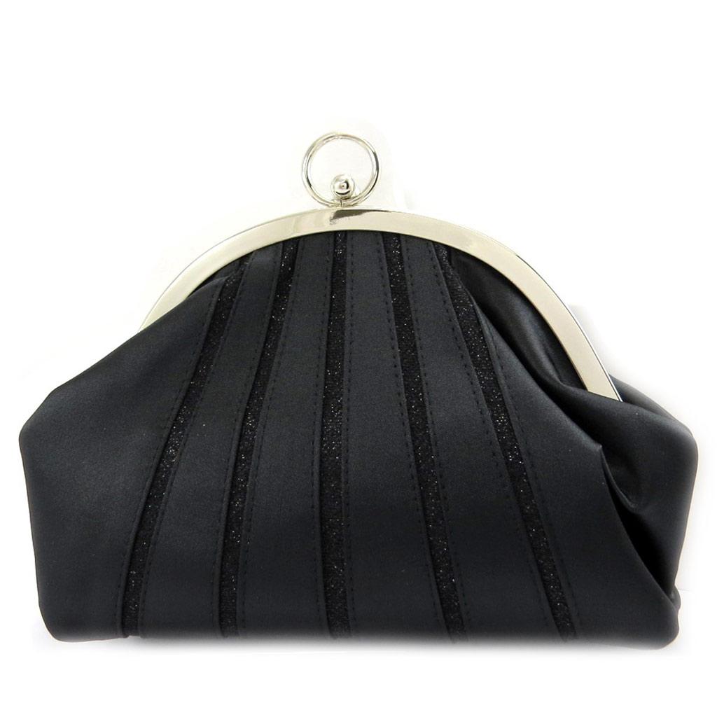 Sac Bourse \'Nina\' noir - [L3599]