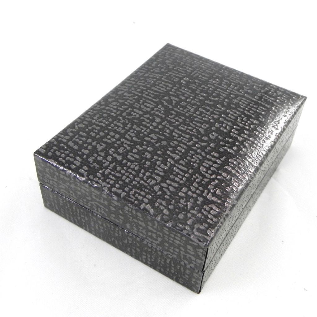 Ecrin Pendentif \'Design\' gris anthracite - [G6472]