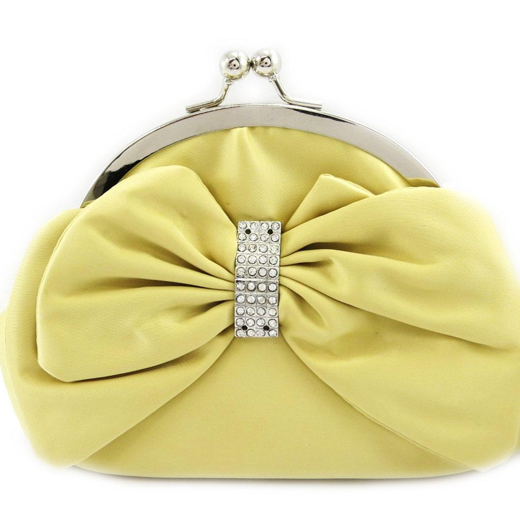 Sac Bourse \'Nina\' jaune - [L3676]