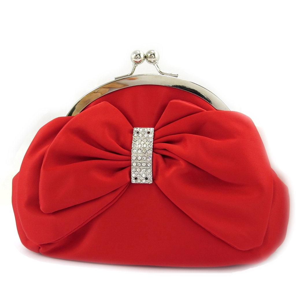 Sac Bourse \'Nina\' rouge - [L3678]