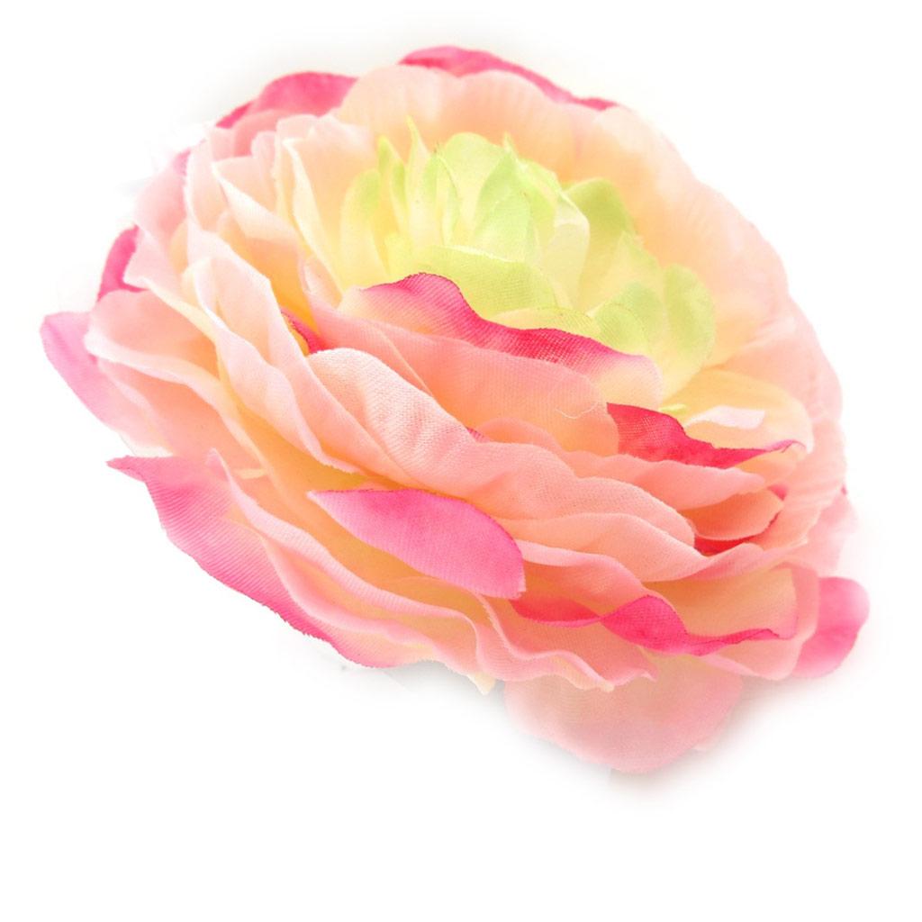 Broche Créateur \'Rose Féérique\' rose - [J8254]