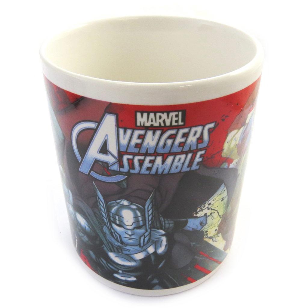 Mug céramique \'Avengers\' rouge multicolore -  33 cl (yeux) - [M9080]