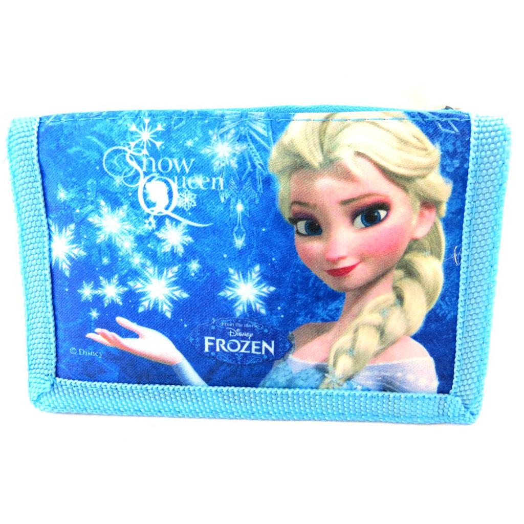 Portefeuille \' Frozen - Reine des Neiges\' bleu - [N4926]