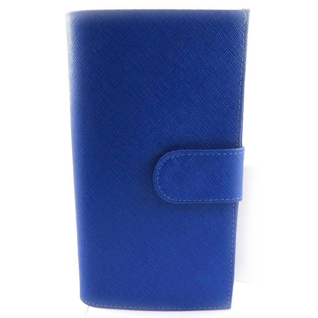 Compagnon Cuir \'Frandi\' bleu roi - [L3798]