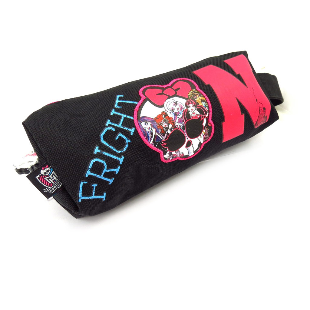 Trousse \'Monster High\' noir rose - [K5475]