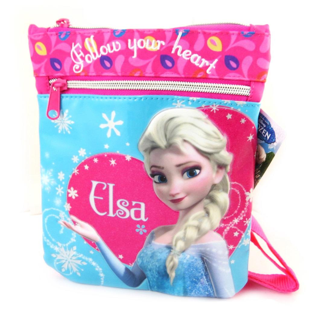 Sac créateur \'Frozen - Reine des Neiges\' bleu rose - [M5270]