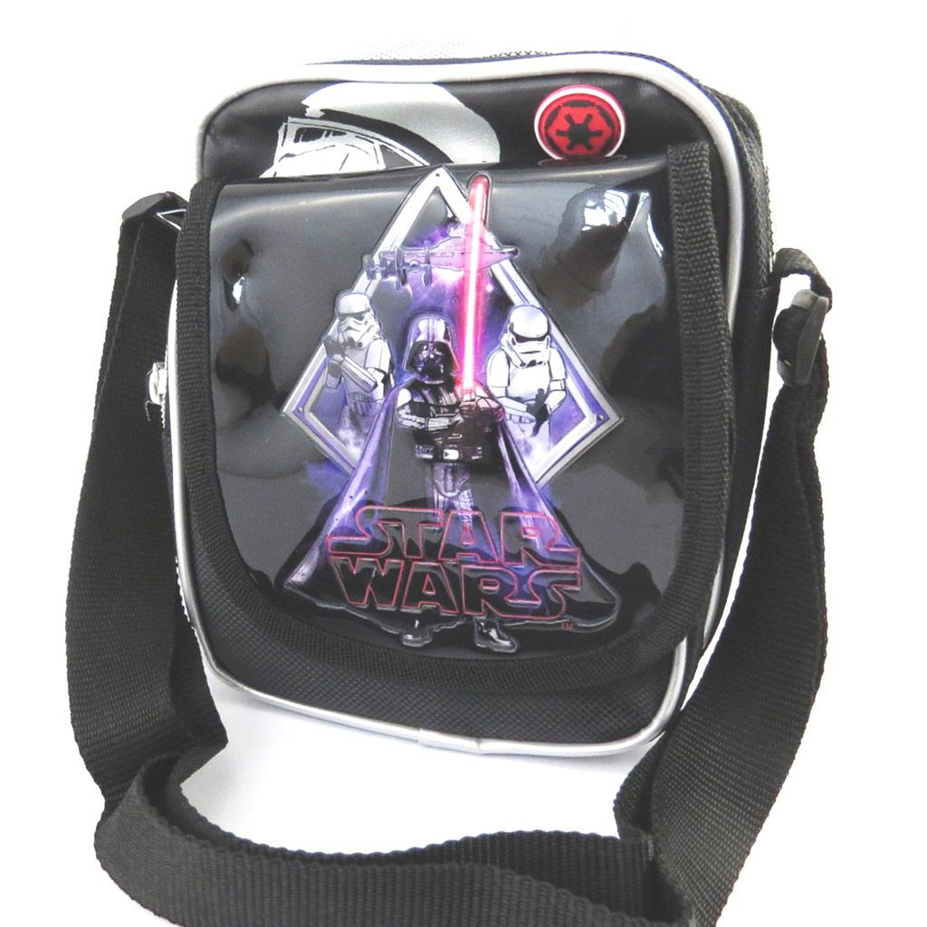 Sac créateur \'Star Wars\' noir (19x14x10 cm) - [M5271]