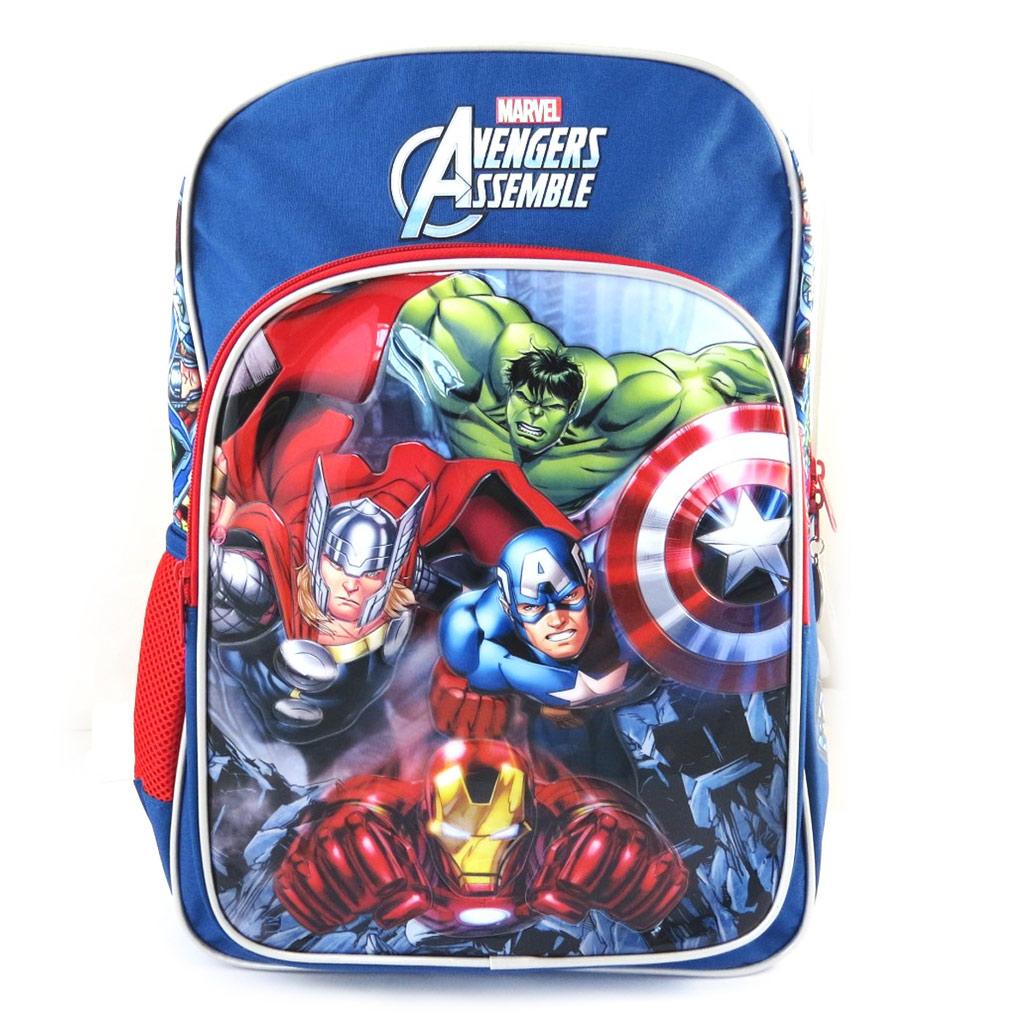 Sac à dos enfant \'Avengers\' bleu multicolore (40x30x16 cm) - [M5283]