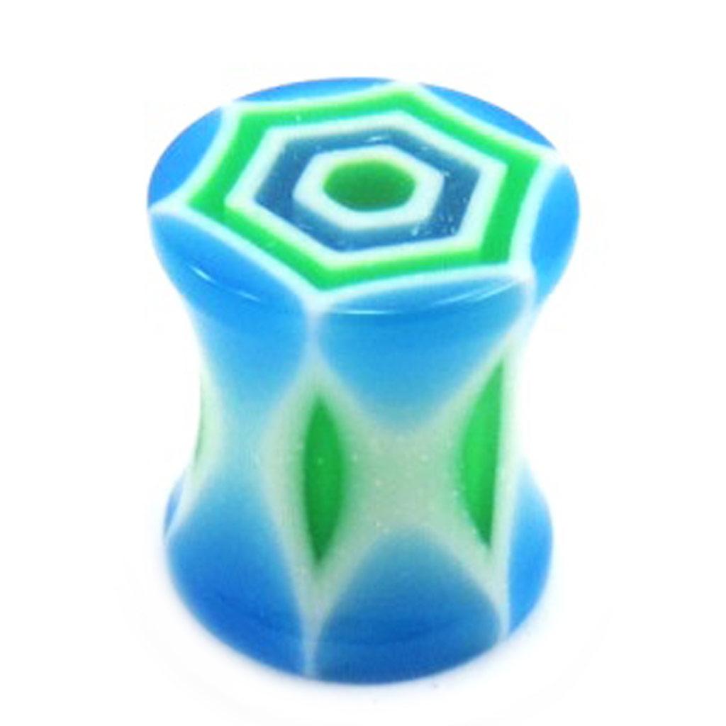 Ecarteur \'Totem\' Bleu / Vert  - [A7463]