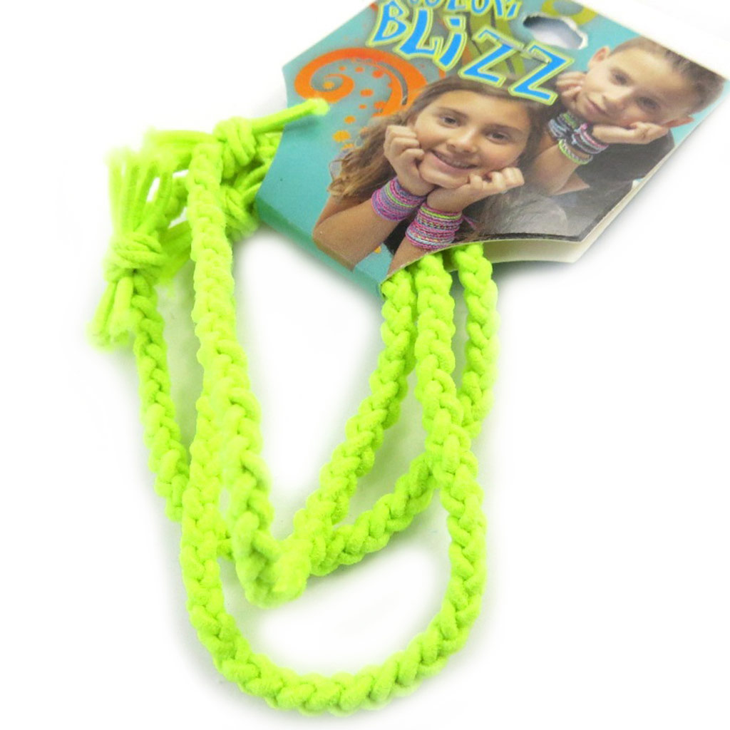 3 bracelets élastiques \'Coloriage\' vert - [M5333]